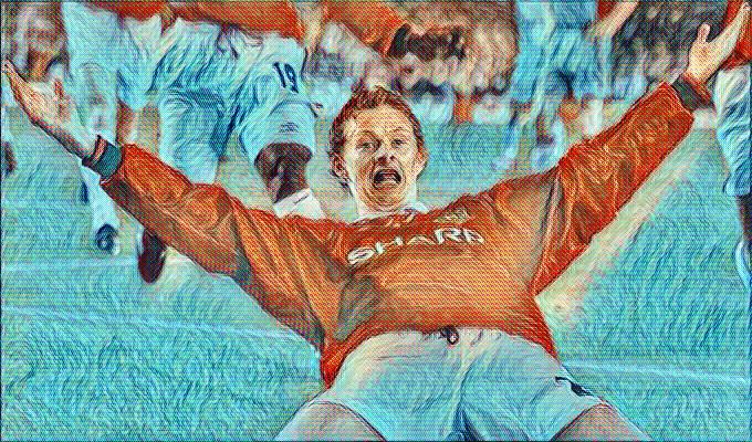 Ole Gunnar Barcelona 1999